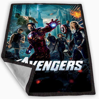 The Avengers Blanket for Kids Blanket, Fleece Blanket Cute and Awesome Blanket for your bedding, Blanket fleece *