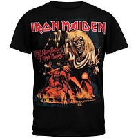 Iron Maiden - Number Of The Beast Black T-Shirt