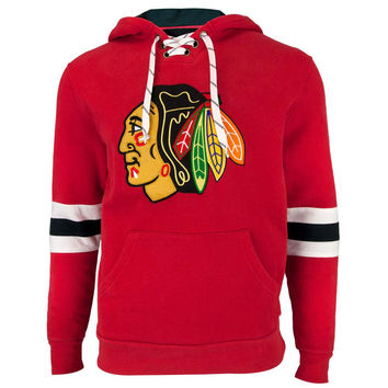 Chicago Blackhawks - Logo Kinship Adult Pullover Hoodie