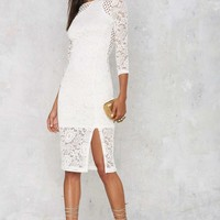 Cut to the Lace Dress