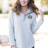 Simply Southern: Warm Adventures Pullover, Pebble