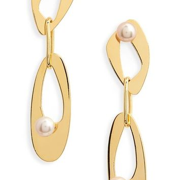 Lizzie Fortunato Infinity Freshwater Pearl Drop Earrings | Nordstrom