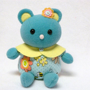 Flower mouse plush toy