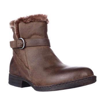 Born Kaia Winter Ankle-High Boots - Brown