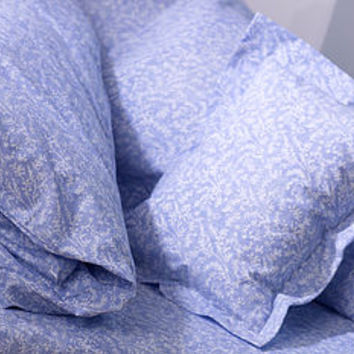 Cotton Lavender Bed Linen: Flat Sheet