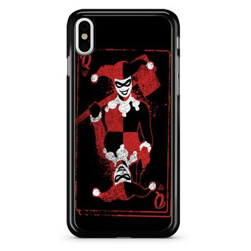 Harley Quinn Of Hearts iPhone X Case