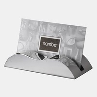 Nambe 'Wave' Business Card Holder