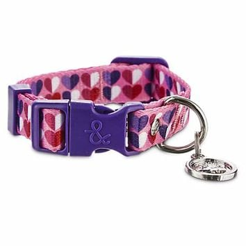 Bond & Co. Pink Heart Collar | Petco
