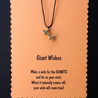 San Francisco Giants Wish Bracelet with Golden Gate Charm