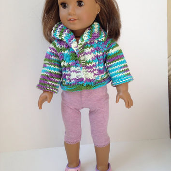 Cardigan Doll Sweater