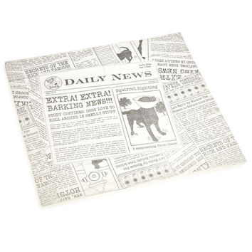 Dog Is Good Daily News Scented and 5-Layer Protection Puppy Pads with Leak-Proof Plastic Liner and Poly-Lock Core