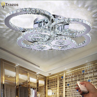 Modern LED Crystal Ceiling Lights For Living Room luminarias  Ceiling Lamp Fixture