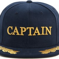 SHOP THE HUNDREDS | The Hundreds Captain snap-back cap