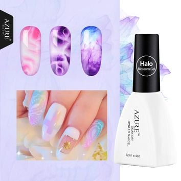 Azure Beauty Blooming Effect Blossom Gel Lacquer 1Pcs 12ML Gel Polish Professional Soak Off UV Led Long-Lasting Nail Gel Polsih