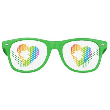 Irish Heart. Retro Sunglasses