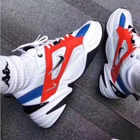 Nike M2K Tekno Fashionable Women Men Retro Sport Running Shoes Sneakers I/A