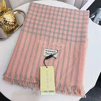 DIOR Winter Trending Women Stylish Plaid Cashmere Cape Scarf Scarves Shawl Accessories