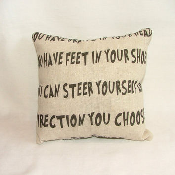 Dr. Seuss Pillow
