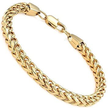 6mm Wide Curb Chain Bracelet