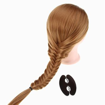Magic Twist Roller Hair Styling Tools Weave Braid Hair Braider Bun Maker Hair Roller DIY Beauty Tool Braiding Accessories