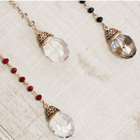 Crystal Kingdom Necklace - Clear