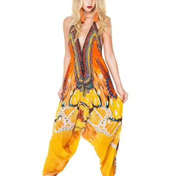 Shahida Parides High End Harem Jumpsuit - Bohemian Designer Jumpsuit