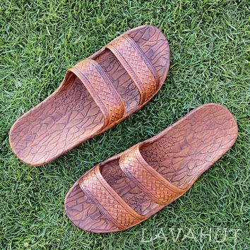 Light Brown Classic Jandals® - Pali Hawaii Sandals