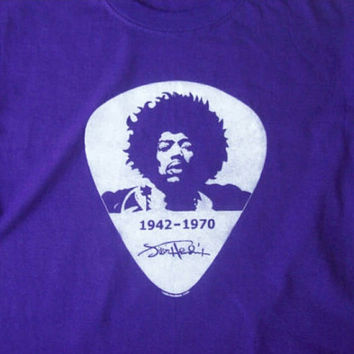 JIMI HENDRIX 1942-1970 tee / Jimmy Hendrix / Are You Experienced? / 60's Psychadelic Rock Icon - Guitar Player and Innovator t-shirt
