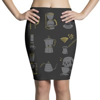 coffee equipment Pencil Skirts