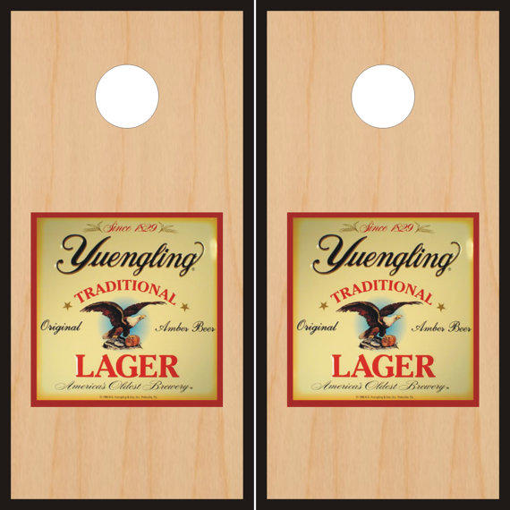 Yuengling Lager Cornhole Board Set From Freedomdesignstore On