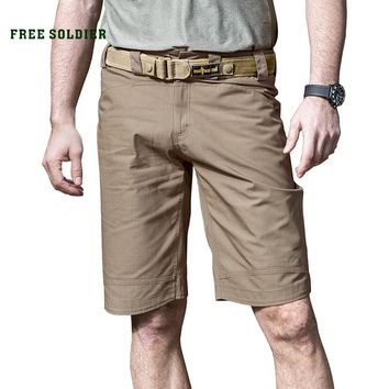 Outdoor tactical camping hiking shorts, wear-proof breathable breeches spring-summer men's tactical shorts