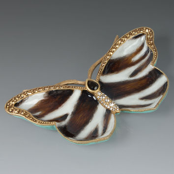 Juliet Butterfly Trinket Tray - Jay Strongwater