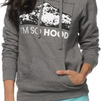 Casual Industrees I'm So Hood Pullover Hoodie