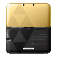 Nintendo 3DS XL - Gold and Black with The Legend of Zelda: A Link Between Worlds