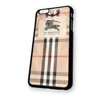 Burberry Pattern Design iPhone 6 case