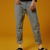 Retro Denim Washed Jeans