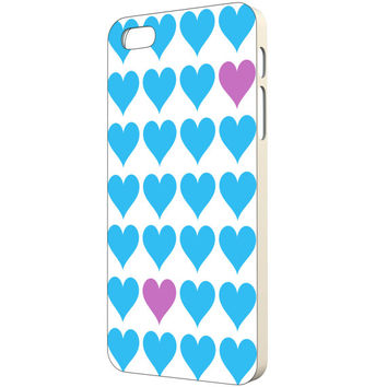 Heart iPhone Case - FREE Shipping to USA blue heart purple heart art iphone cute iphone 5 case girly iphone 4 case slim iphone cases