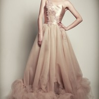 Nubi Flori - Champagne Dress