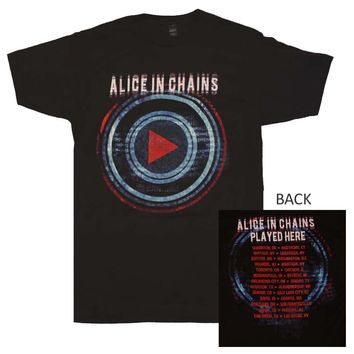 Alice in Chains Played Here Tour T-Shirt X-Large