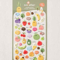 Fruit Puffy Sticker