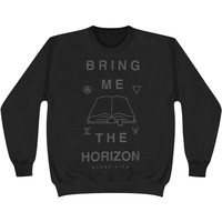 Bring Me The Horizon Men's  Holy Bible Sweatshirt Black