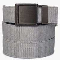 Grey Canvas Belt