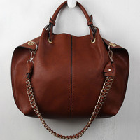 Stitched Eyelet Carryall Bag