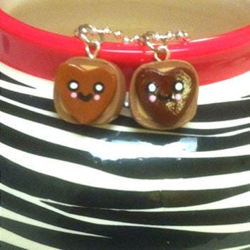 Peanut Butter and Nutella Friendship Necklaces