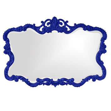 "Howard Elliott Talida Royal Blue Mirror 27"" x 38"" x 1"""