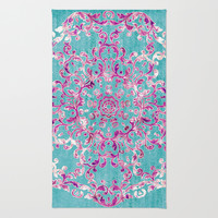 Reinventing A Taste of Lilac Wine Rug by Octavia Soldani | Society6