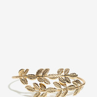Olive Leaf Wrap Arm Cuff