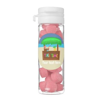 Kids Hawaiian Luau Party Guest Favor Gum