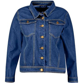 Plus Denim Jacket | Boohoo