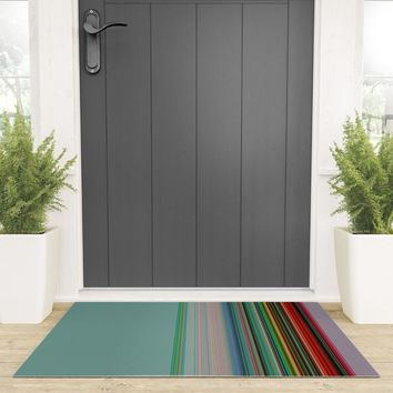 serape-light Welcome Mat by duckyb